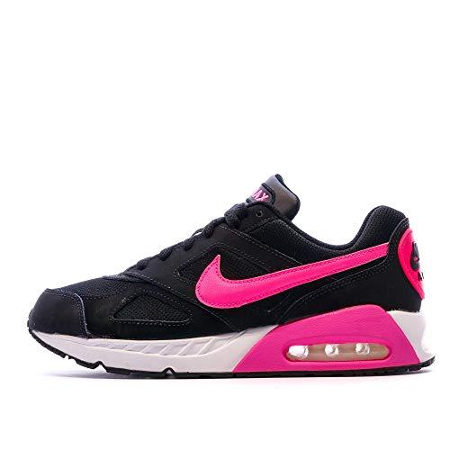 Nike Mädchen Air Max Ivo (GS) Laufschuhe, Schwarz, Rosa, Pink (Negro Rosa Negro Black Pink Pow Black), 35.5 EU