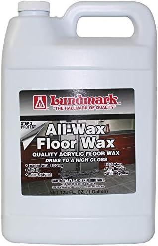 Lundmark All Wax, Self Polishing Floor Wax, 32-Ounce, 3201F32-6