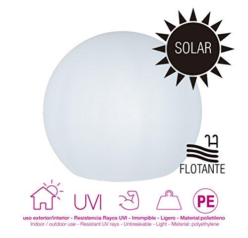 moovere Boole Sphère lumineuse décorative intégré, 0.3 W, Blanc Translucide, 40 x 35 cm