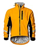Showers Pass Men s Waterproof Breathable Elite 2.1 Cycling Jacket (Goldenrod - Large)