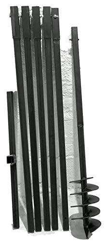 MWS-Apel 150/6 Meter Erdbohrer Brunnenbohrer Handerdbohrer Erdlochbohrer Brunnenbau Pfahlbohrer brunnenbohrgerät