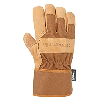 Insulated System 5 Work Glove with Safety Cuff L Brown