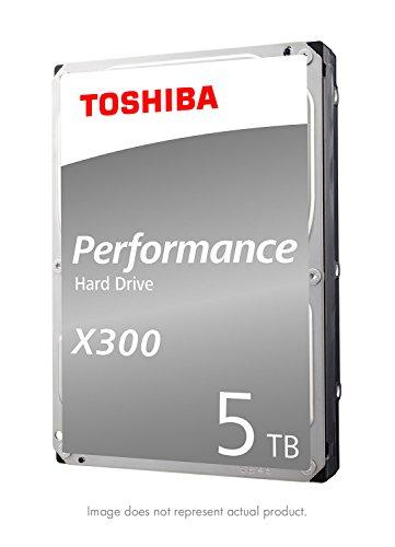 Toshiba X300 5TB Performance Desktop and Gaming Hard Drive 7200 RPM 128MB Cache SATA 6.0Gb/s...