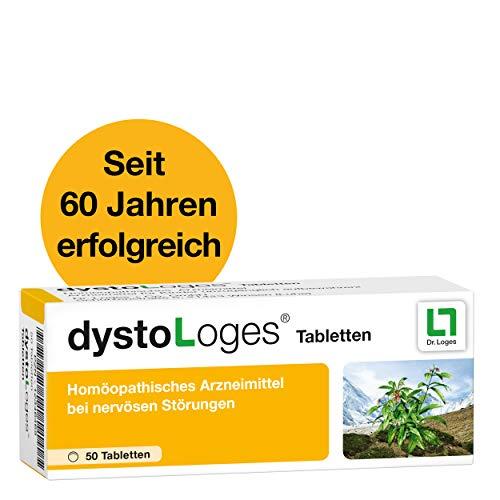 dystoLoges, 50 Tabletten, homöopathisches Arzneimittel - bei nervöser Unruhe und Schlafstörungen