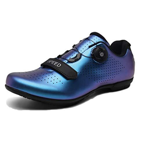LIXIYU Calzado para Hombre en Bicicleta BTT Zapatos de Bicicletas Bicicleta de...