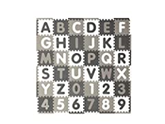 """Set contains: includes 36 foam pieces with removable shaped centers and 24 border pieces. Dimensions: Each square measures 12"""". As pictured, set covers 36 square feet. Use: Safe, soft and durable. Combine multiple sets to cover larger areas and creat..."""