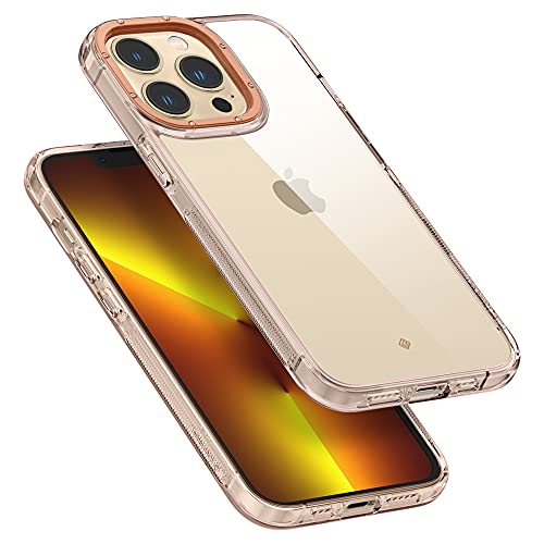 Hülleology Skyfall Hülle Kompatibel mit iPhone 13 Pro - Royal Rose Gold