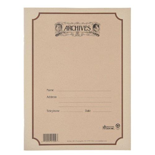 Quaderno Pentagrammato Archives con Rilegatura a Spirale, 12 Pentagrammi, 48 Pagine
