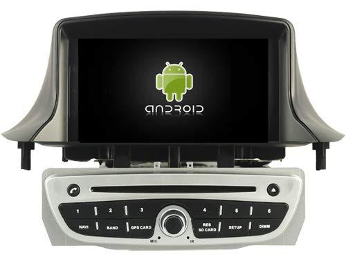 KasAndroid AUTORADIO Android 10.0 compatibile con RENAULT Megane III OCTA CORE, 4 GB RAM, 64 GB ROM GPS Radio AUTO CD SD DVD USB navi navigatore Mirror link CANBUS WIFI/3G gris 2009 2010 2011 gris
