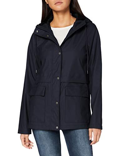 ONLY Damen ONLTRAIN Raincoat OTW Jacke, Night Sky, M