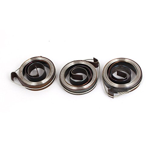 Best Bargain uxcell 8inch Length Metal Drill Press Quill Return Coil Spring Assembly 3Pcs