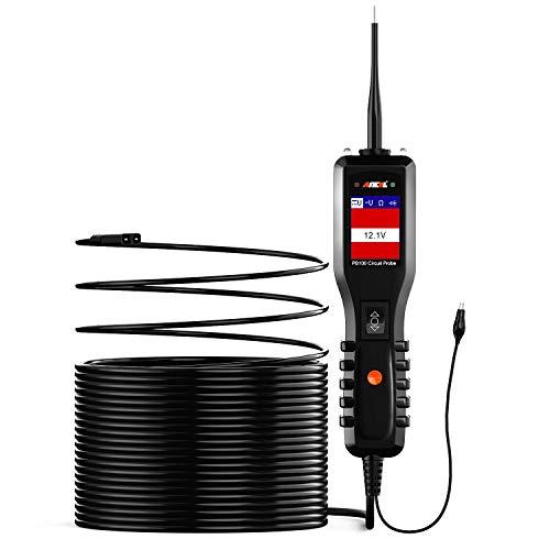 ANCEL PB100 Kit de Sonda para Probador de Circuito Automotriz Herramienta de Prueba de Diagnóstico de Vehículo Voltímetro Digital para Automóvil 12V 24V AC/DC Voltaje Diodo Detector de Resistencia