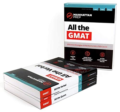 All the GMAT: Effective Strategies & Practice to Get a 700+ Score: All the Quant/All the Verbal/Integrated Reasoning & Essay: Content Review + 6 ... + Effective Strategies to Get a 700+ Score