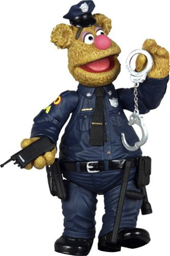 Muppet Show Series 6 Patrol Bear Fozzie Action Figure