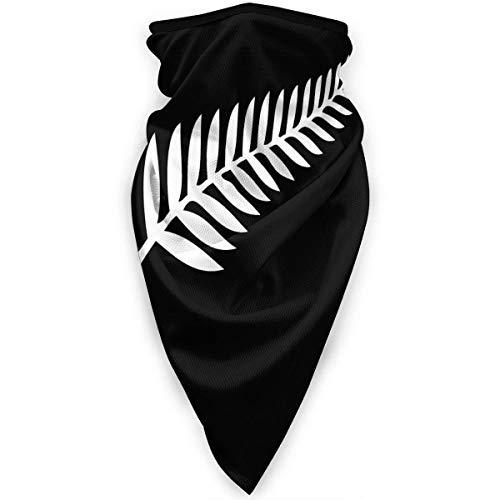 New Zealand Maori Fern Neck Gamasche Wärmer Winddichte Gesichtsmaske Schal Outdoor Sportmaske