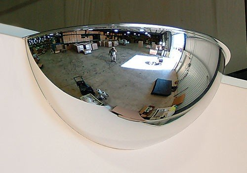 "Quality Product By See-All Industries- Half Dome Mirror 18"" Size"
