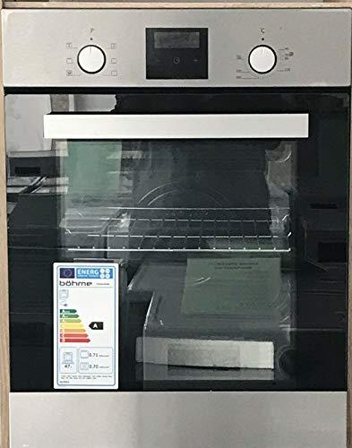 Böhme HB45AB40L Backofen autark Edelstahl Einbaubackofen 45cm Breit Microküche