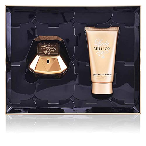 Paco Rabanne Lady Million Eau de Parfum SET (Eau de Parfum 50 ml+ Body Lotion 75 ml)
