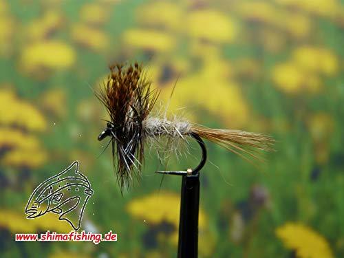 Märzbraune Trockenfliege (Hakengrösse 16)