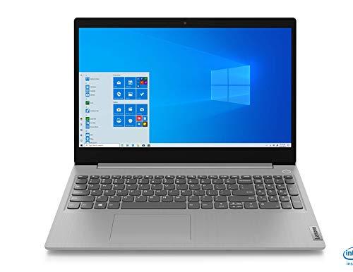 Lenovo Ideapad Slim 3i Intel Core i3 10th Gen 15.6 FHD Thin and Light Laptop (4GB/1TB/Windows 10/Office/Platinum Grey/1.85Kg), 81WE007VIN