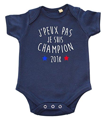Body bébé J'peux Pas Je suis Champion 2018
