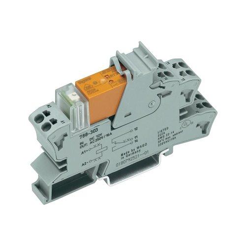 WAGO 788–508grau Elektrische Relais–Elektrische Relais (grau)