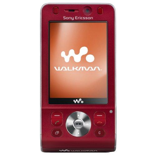 Sony Ericsson W910i Hearty red UMTS HSDPA Handy
