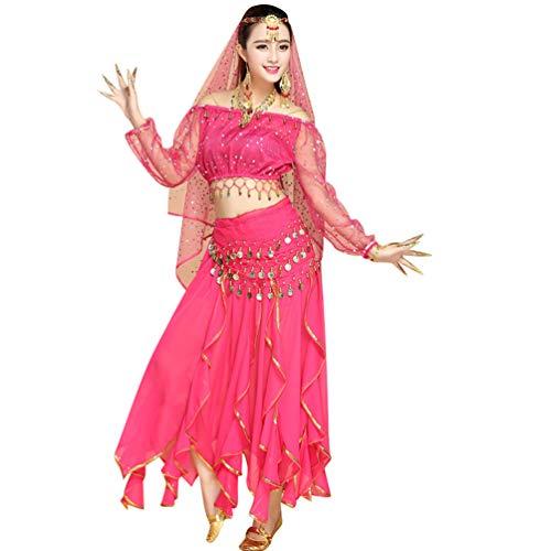 Dancer World Ltd Petite Neckholder Top Costume da Danza del Ventre con Rete