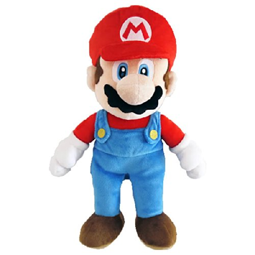 Nintendo BG Games - Peluche Super Mario, 25 cm, Multicolor (Together Plus 5016743103040)