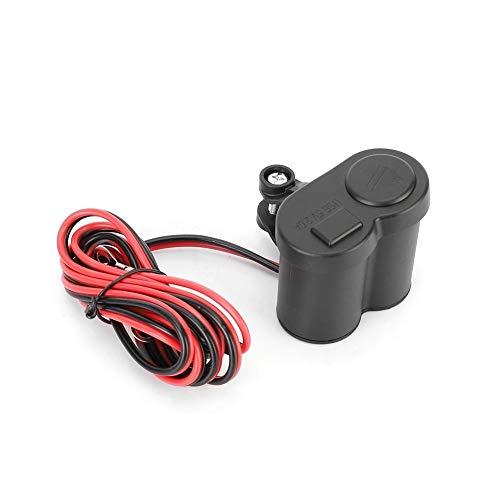 Vikenar Motorrad-Zigaretten-Feuerzeug 2 in 1 Universal-Motorrad-USB-Anschluss Ladewasserdichte Steckdose