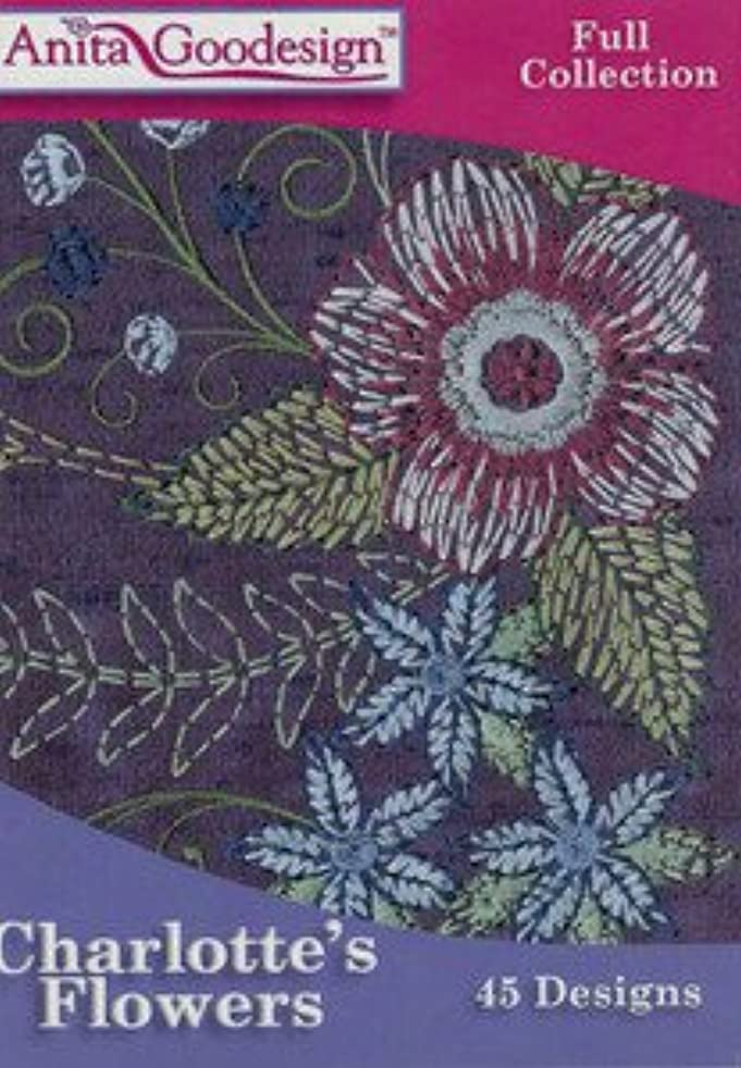 Anita Goodesign Embroidery Designs Charlotte's Flowers