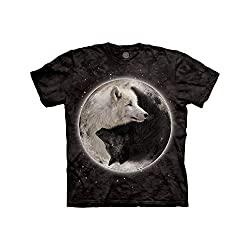 The Mountain Ying Yang Wolves T-Shirt
