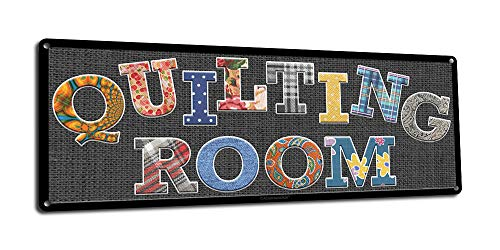 Quilting Room Metal Sign