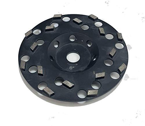 Multi Segment Diamond Cup Wheels Fast Aggressive Grinding Concrete Masonry Stone (7')