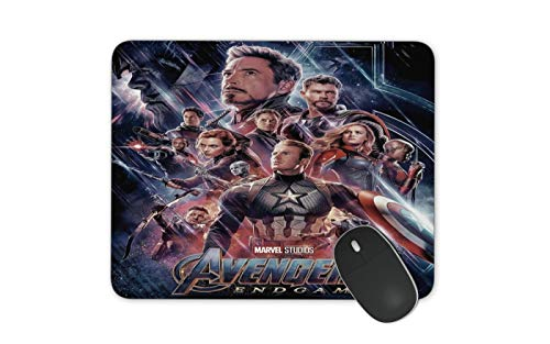 JNKPOAI Avengers Anti-Slip Mouse Pad Marvel Games Mouse Pad Personalized Design of Notebook Mouse Pad Printed Mouse Pad (Marvel#1)