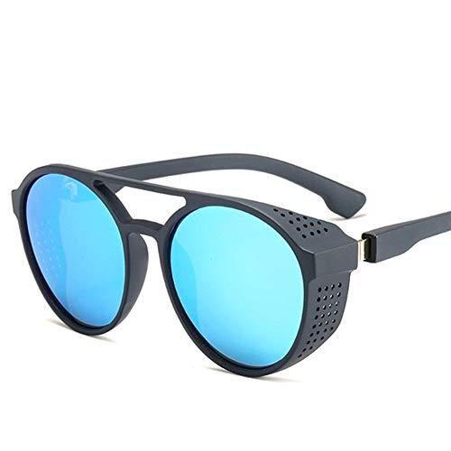 PPCLU gafas de sol Gafas de vapor Noche retro visión del conductor tirón Gafas Marco redondo Hasta Eyewear amarillo completo Vidrios for la conducción nocturna (Color Name : 1 Pcs Yellow)
