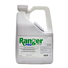 Glyphosate- 41% (same active ingredient as Roundup) Residential areas, Parks and Recreational Areas Mix Ranger Pro at a rate of 2-3 ounces per gallon of water.
