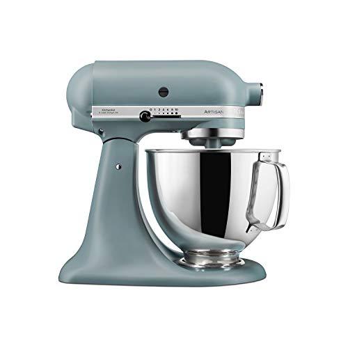KitchenAid 5KSM175PSBMF 4.8L Artisan Stand Mixer - Matt Fog Blue
