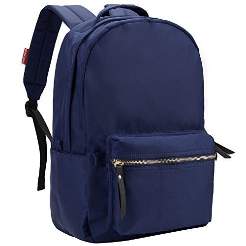 HawLander School Bag for Women or Girls Nylon 20 Liters Deep Blue Small Size