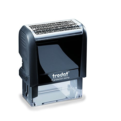Trodat Printy 4913 Self Inking ID Security Data Protection Stamp (GDPR)