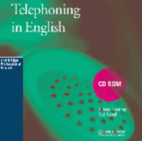 Telephoning in English CD-ROM: A communication skills self-study course: PC Version