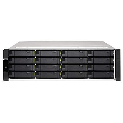 QNAP-ES1686dc-2142IT-96G 16-Bay Enterprise ZFS NAS SAS 12G/6G Xeon D-2142IT 1.9GHz 96GB RAM with Rail Kit