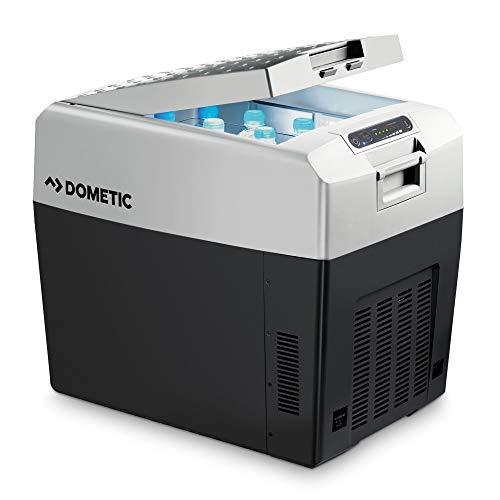 DOMETIC TropiCool TCX 35, tragbare thermo-elektrische Kühlbox/Heizbox, 33 Liter, 12/24 V und 230 V für Auto, Lkw, Boot und Steckdose, Energieklasse A++