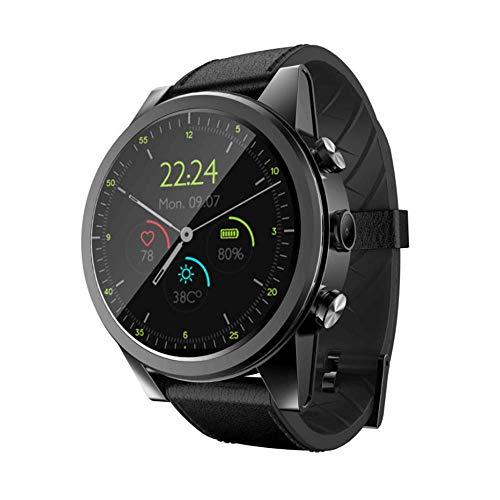 1.6 Pulgadas de Pantalla táctil 4G Actividad de Reloj Inteligente, t Tracker 3 + 32G con Tarjeta SIM TF Solt con cámara SMS Contador de Pasos, Contador de calorías, Sensor