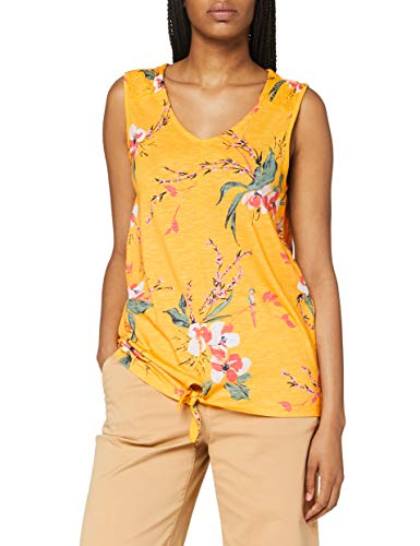 Cecil Damen 314851 T-Shirt, Mango Yellow, X-Large