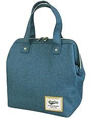 アットファースト ランチバッグ・ランチ巾着・ランチベルト Lサイズ グレイニープレーン 保冷・保温対応