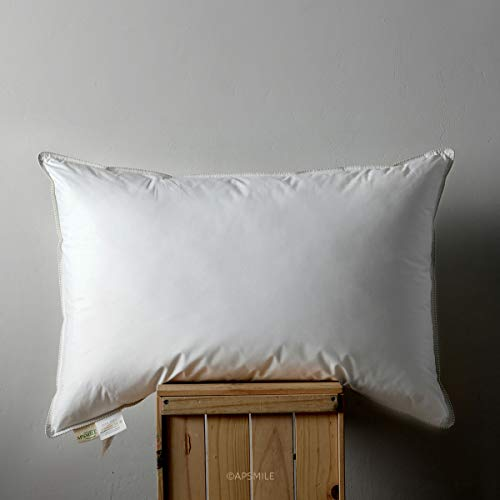 APSMILE Goose Down Pillow for Sleeping -100% Organic Cotton review