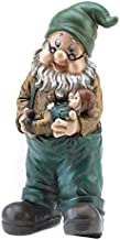 Summerfield Terrace Gnomes Christmas, David The Gnome, Yard Ornament Grandfatherly Garden Gnome (Sold by Case, Pack of 6)