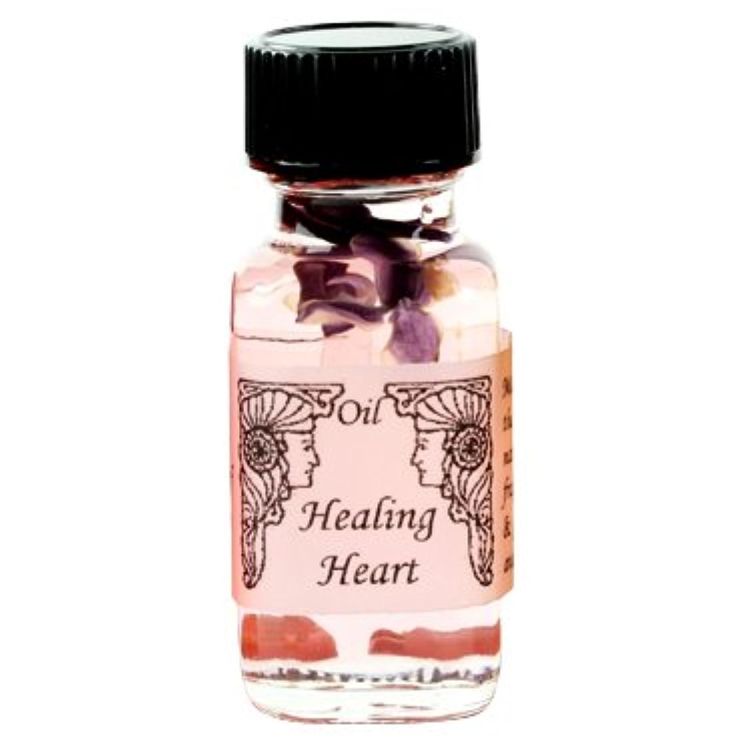 挑発する通信網人形アンシェントメモリーオイル ハートヒーリング Heart Healing 15ml (Ancient Memory Oils)