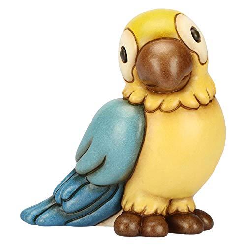 THUN® - Pappagallo Turchese Medio - Animali Soprammobile da Collezione - Ceramica - I Classici